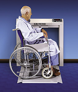 Scale-Tronix 6202 Stow-a-Weigh Wheelchair Scale